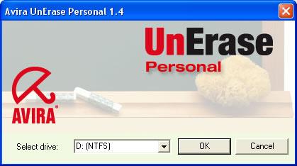 Avira UnErase - Software per il Recupero file cancellati