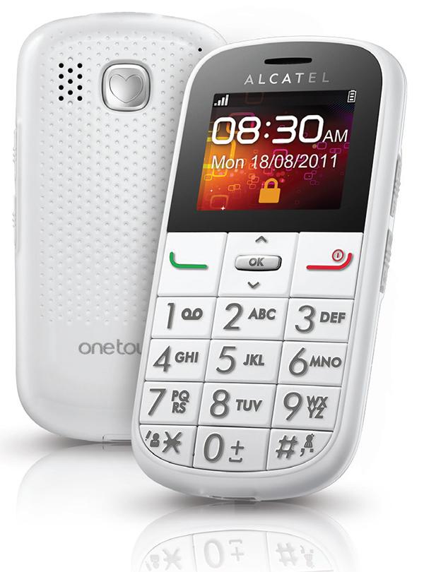 Cellulare per anziani con tasti grandi